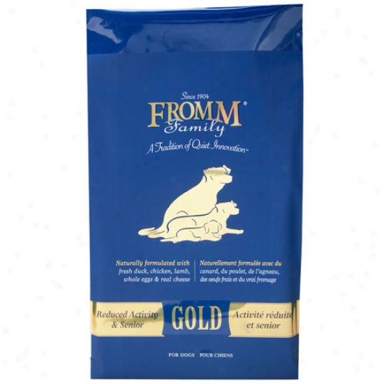 Fromm Gold Nutritionals Senior Dog Formula 15lbs
