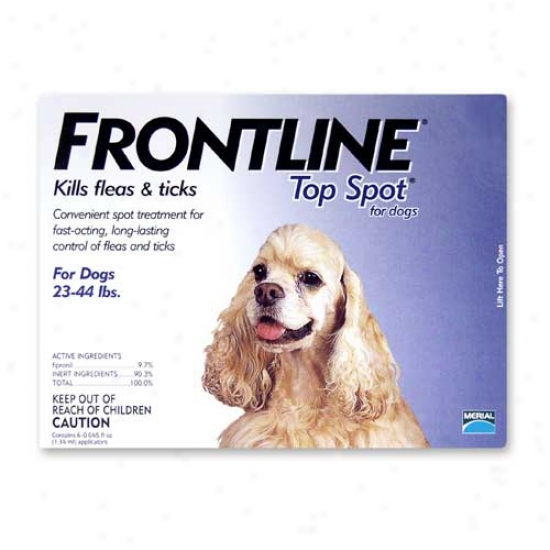 Frontline Top Spot For Dogs 23-44lbs 3 Pack