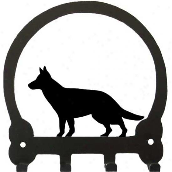 German Shepherd Dog Key Rack By Sweeney Ridge