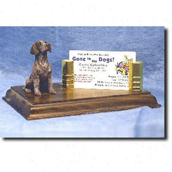 Geman Shorthaired Pointer Buziness Card Holder