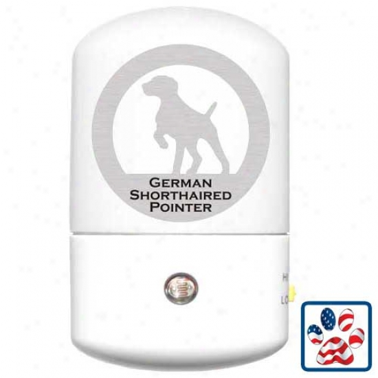 German Shorthaired Pointer Led Night Light