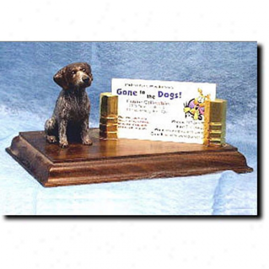 German Wirehaired Pointer Business Card Holder