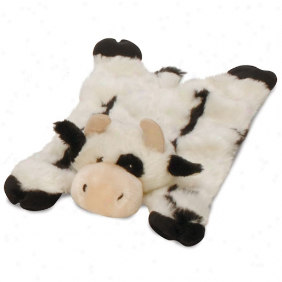 Go Dog Barnyard Buddids Cow Baby Plush Trifle With Chew Guard Technology