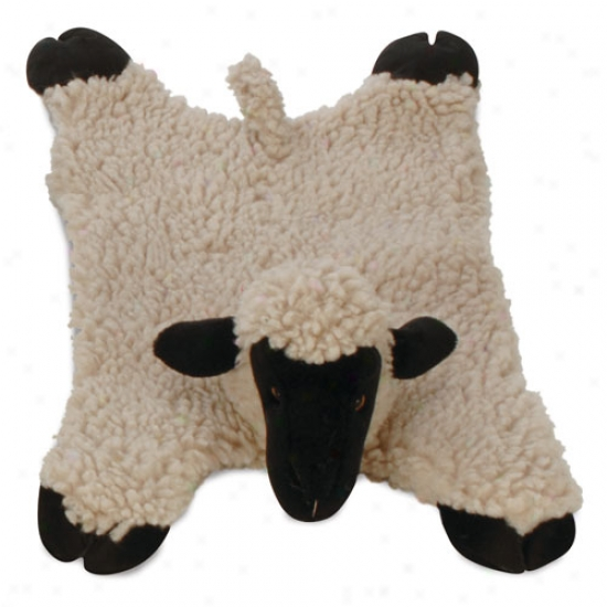 Go Dog Barnyard Buddies Lamb Mama Plush Toy With Chew Guard Technolofy