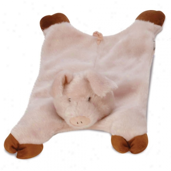 Go Dog Barnyard Buddies Pig Mama Plush Toy With Chew Guare Technology