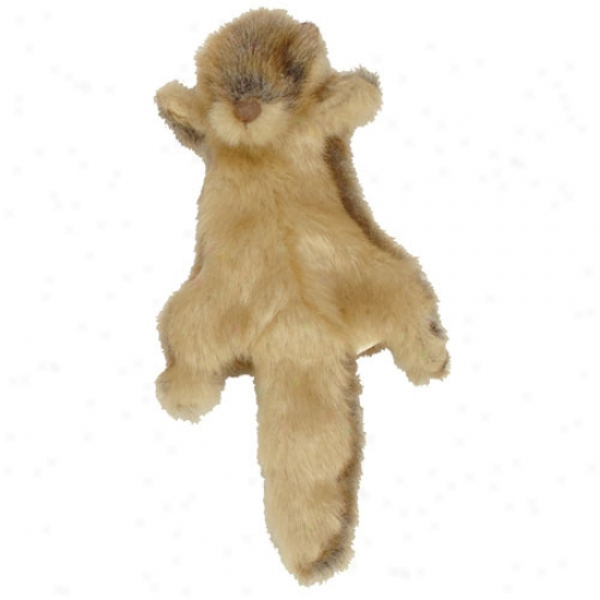 Go Dog Roadkill Otter Mibi Plush Toy With Chew Guard Technology