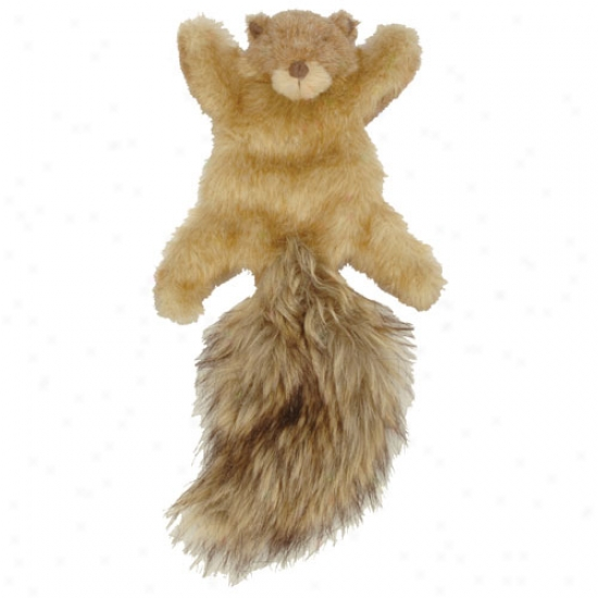 Go Dog Roadkill Squireel Mini Plush Toy With Chew Guard Technology
