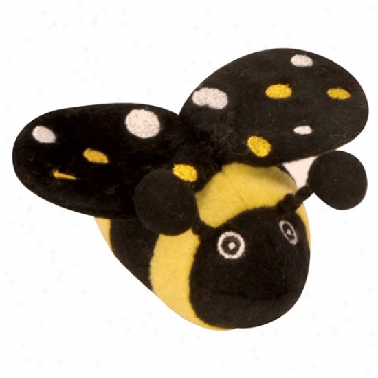 Go Dog Tiny Bee By the side of Chew Guard Technology Plush Toy