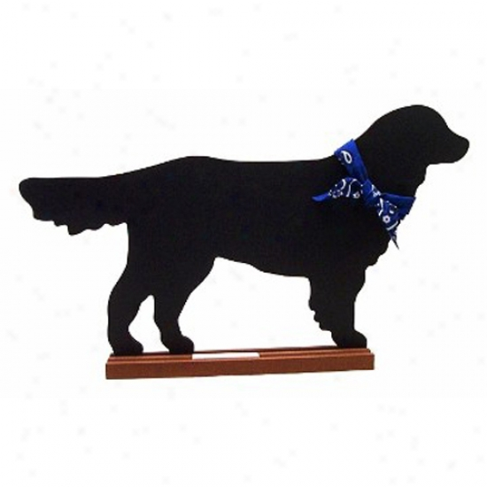 Golden Retriever Blsckboard - Wall Model
