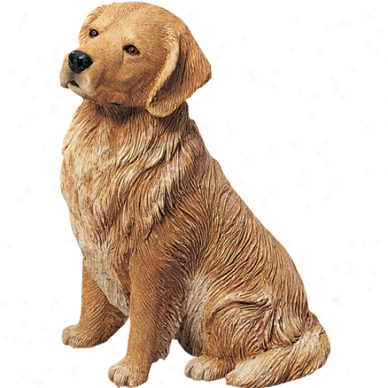 Goldden Retriever (Concealment Color) Inventive Size Sculpture By Sandicast