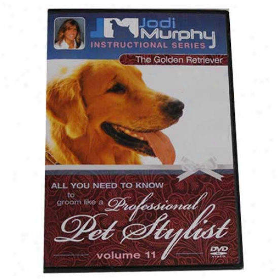 Delightful Retriever Grooming Dvd By Jodi Murphy