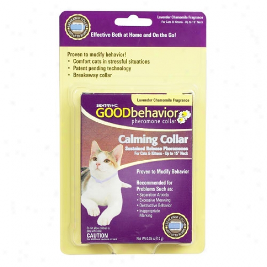 Good Behavior Pheromone Cat Put a ~ on For Necks Up To 15 Inches
