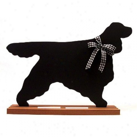 Gordon Setter Blackboard - Table  Model