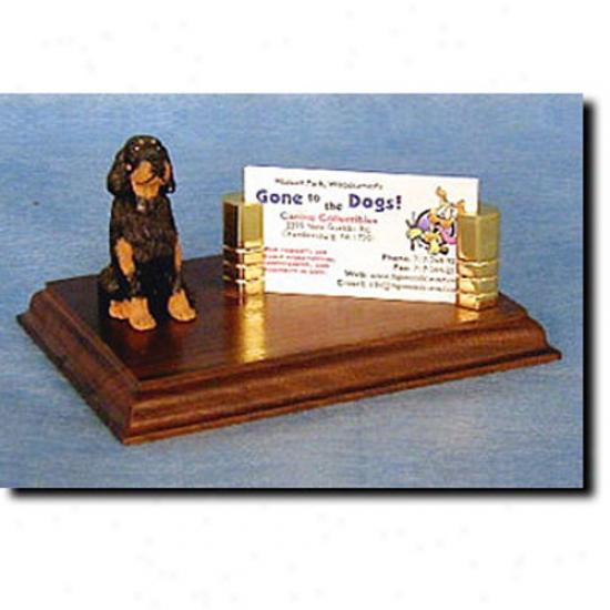 Gordon Setter Business Card Holder