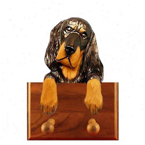 Gordon Setter Leash Holder