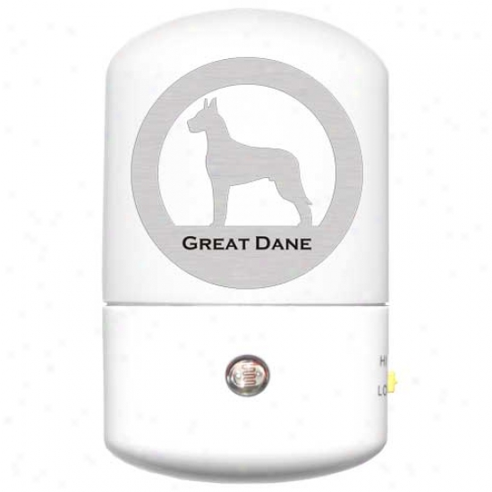 Great Dane Led Night Light