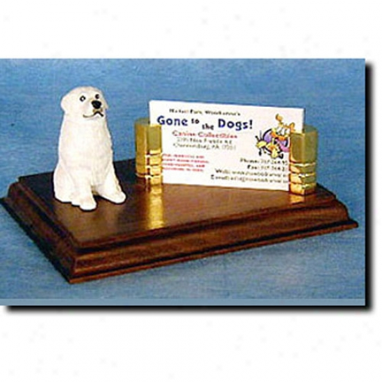 Great Pyrenees Business Card Holder