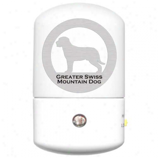 Greater Swiss Mountain Dog Led Night Light