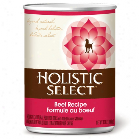 Holistic Beef With Oat Bran Case Of 12 13.2oz Cans
