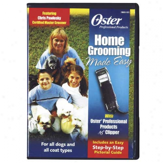 Home Grooming Made Easy Dvd By Oster