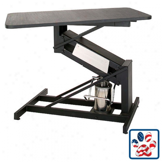 Hydraulic Table / Rotating Top (raises 19 In - 42 In) - Masterlift (oversized)