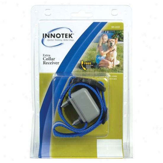 Innotek Xtra Receiver Collar For Rechargeable Inground Fence System(sd2100/2200)