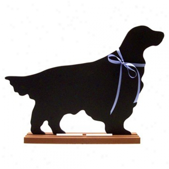 Irish Setter Blackboard - Wall Model