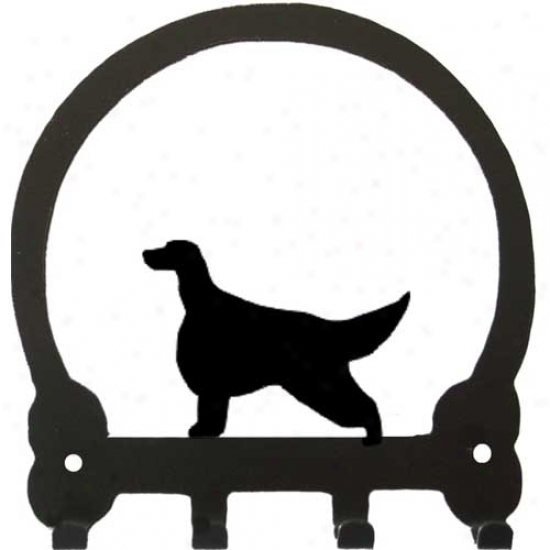 Irish Setter Key Rack By Sweeney Ridge