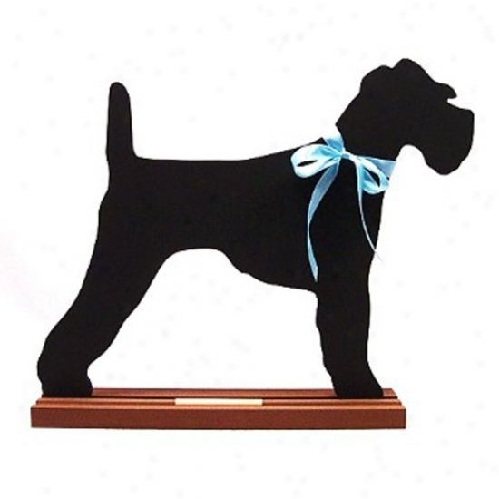 Irish Terrier Blackboard - Wall Model