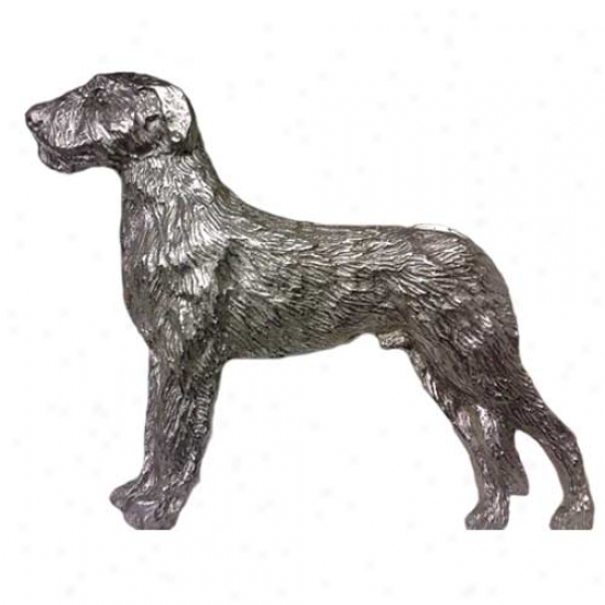 Irish Wolfhound Pewter Pin