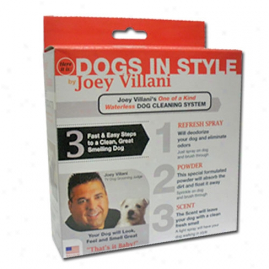Joey Villani One Of A Kind Waterless Dog Cleaning System