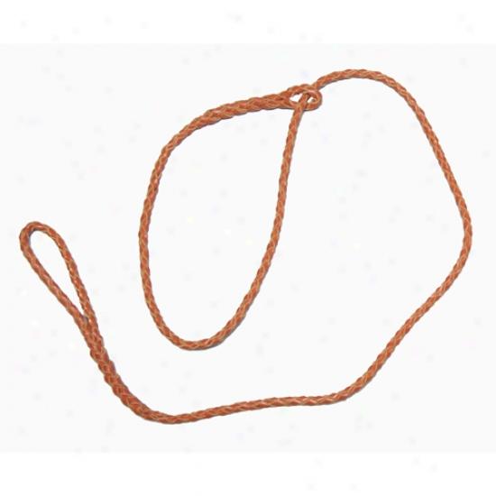 Kangaroo Leather Loop Lead 30in Gray
