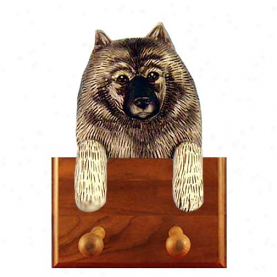 Keeshond Leash Holder