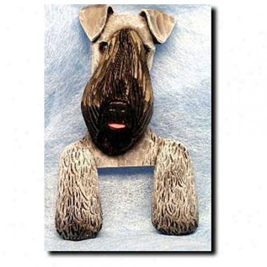 Kerry Blue Terrier Door Topper