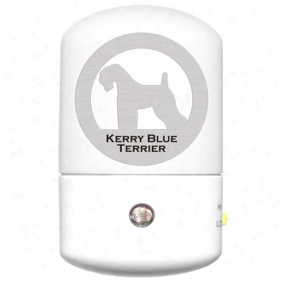 Kerry Blue Terrier Led Night Light