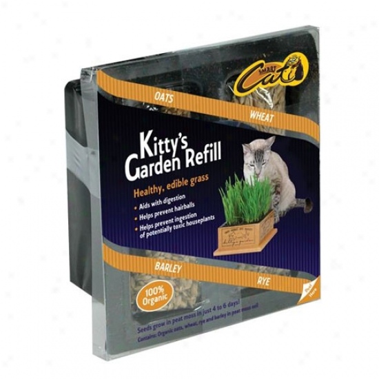 Kittys Garden Peat And Seed Refill