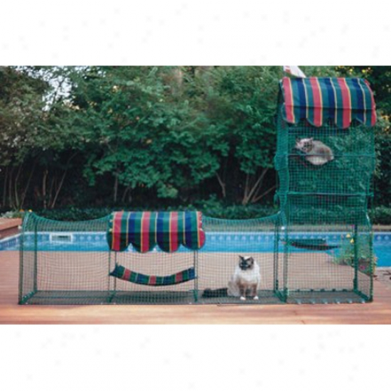 Kittywalk Town And Country - Outdoor Playground For Your Indoor Cat!