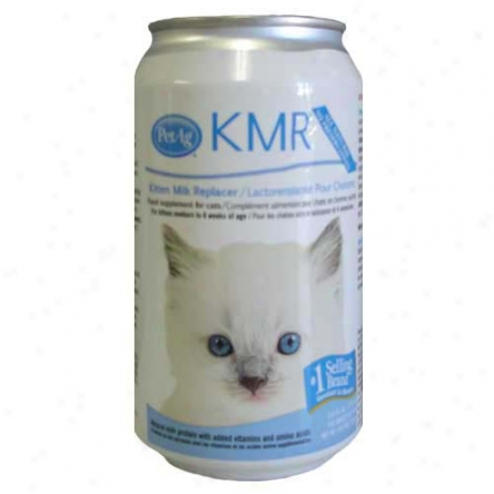 Kmr Milk Replacer For Kittens Liquid (11 Oz)