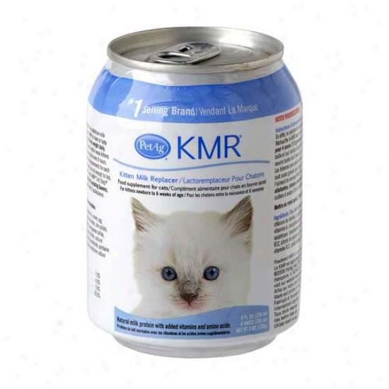 Kmr Milk Replacer For Kittens Liquid (8 Oz)