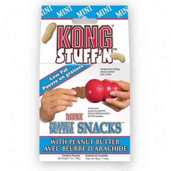 Kong Mini Peanut Butter Treatts