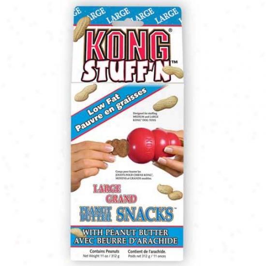 Kong Peanut Butter Snacks