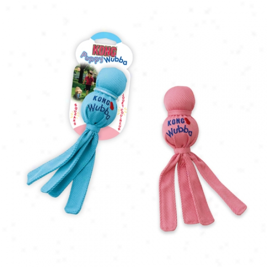Kong Puppy Wubba (assorted Colors)
