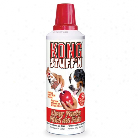 Kong Stufn Liver Paste 8oz