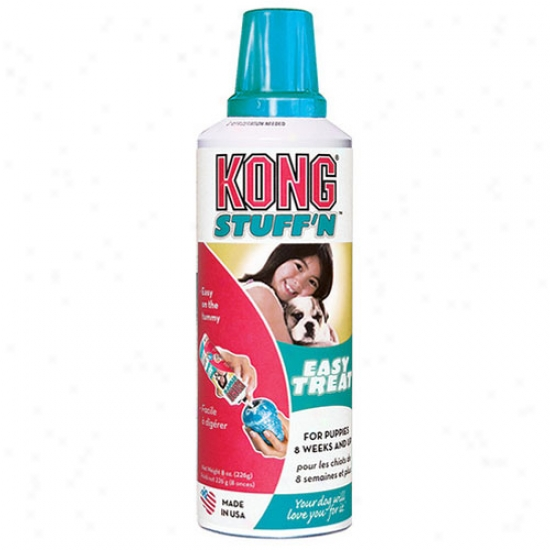 Kong Stuffn Paste Puppy Easy Treat 8oz