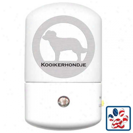 Kooikerhondje Led Night Light