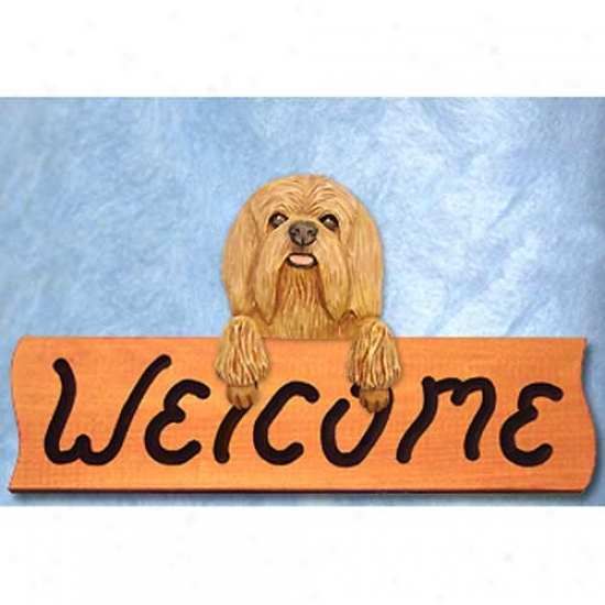 Lowchen Red Fawn Welcome Signify Maple