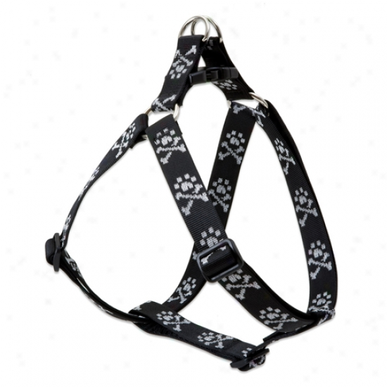 Lupine Bling Bonz Step In Harness 1 Inch X 24-38 Inches