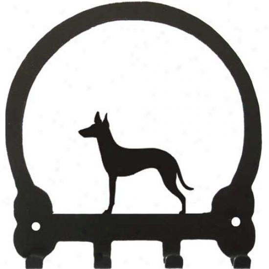 Manchester Terrier Key Rack By Sweeney Ridge