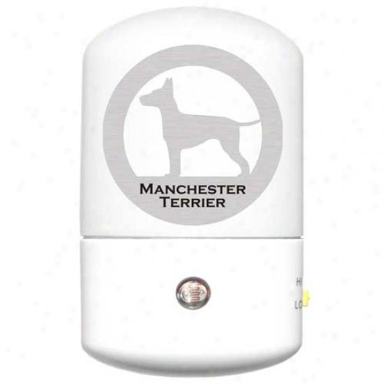 Manchester Terrier Led Night Light