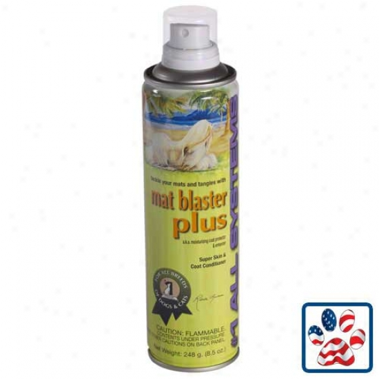 Mat Blaster More, 8.5 Oz Aerosol By 1 All Systems